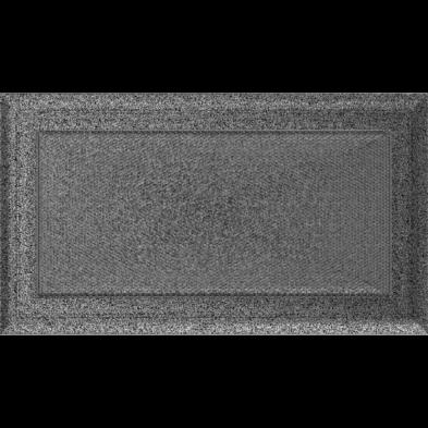 OSKAR SZELLŐZŐRÁCS FEKETE-EZÜST 17X30cm