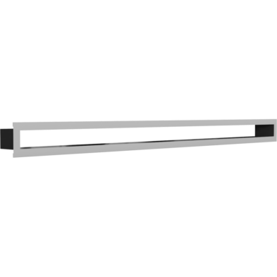 MINIMAL INOX KANDALLÓ SZELLŐZŐRÁCS 6x100cm /HÁTFAL NÉLKÜL/