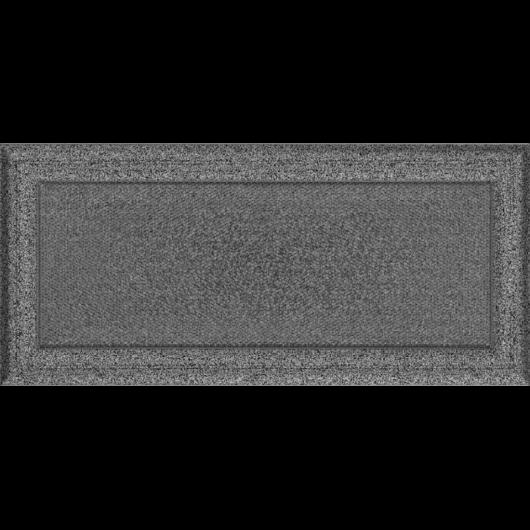 OSKAR SZELLŐZŐRÁCS FEKETE-EZÜST 17X37cm