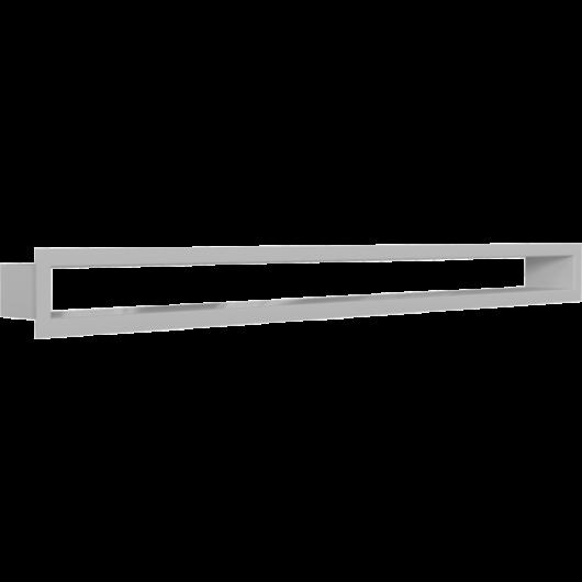 MINIMAL FEHÉR KANDALLÓ SZELLŐZŐRÁCS 6x80cm/HÁTFAL NÉLKÜL/