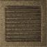 Kép 1/4 - EGYSZERŰ SZELLŐZŐRÁCS FEKETE-ARANY 22X22cm ZSALUS