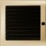 Kép 1/4 - GOLD KANDALLÓ SZELLŐZŐRÁCS 22x22 ZSALUS