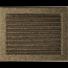 Kép 1/4 - EGYSZERŰ SZELLŐZŐRÁCS FEKETE-ARANY 22X30cm ZSALUS