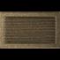 Kép 1/4 - EGYSZERŰ SZELLŐZŐRÁCS FEKETE-ARANY 22X37cm ZSALUS