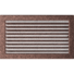 Kép 1/4 - EGYSZERŰ SZELLŐZŐRÁCS BRASS 22X37cm ZSALUS