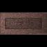 Kép 1/3 - EGYSZERŰ SZELLŐZŐRÁCS BRASS 11X24cm