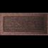 Kép 1/3 - EGYSZERŰ SZELLŐZŐRÁCS BRASS 17X37cm
