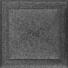 Kép 1/3 - OSKAR SZELLŐZŐRÁCS FEKETE-EZÜST 22X22cm