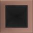 Kép 1/3 - GALVANIZÁLT SZELLŐZŐRÁCS RÉZ 17X17cm