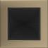 Kép 1/3 - GALVANIZÁLT SZELLŐZŐRÁCS ARANY 17X17cm