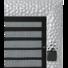 Kép 1/2 - VENUS KANDALLÓ SZELLŐZŐRÁCS NIKKEL 22X37cm ZSALUS